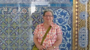 photo of Marian Harris in Turkey