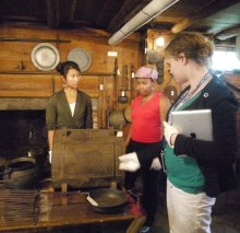 History students encounter how early American women lived.