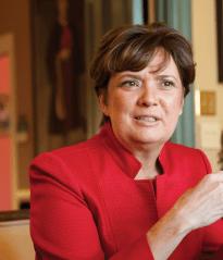 President Lynn Pasquerella in the Fall 2013 Quarterly