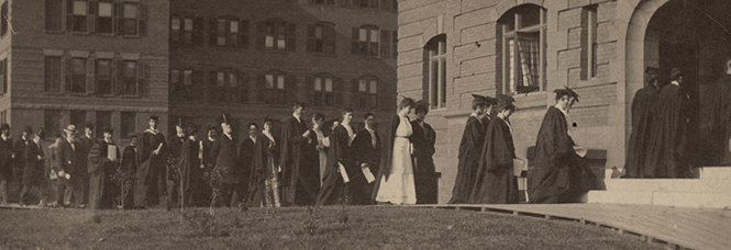 President Woolley's inauguration