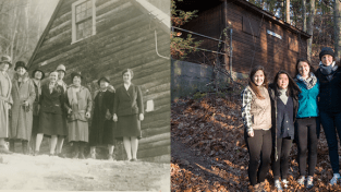 Outing Club: Then and Now