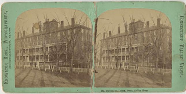 Seminary Building circa 1860–1870