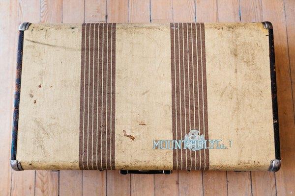 Mount Holyoke suitcase