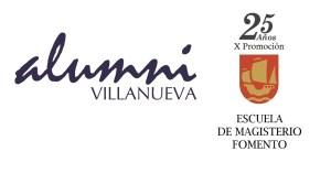 XXV Aniversario de la X Promoción de la Escuela de Magisterio de Fomento (1985-1990).