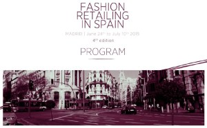 Fashion Retailing in Spain - Summer Course 2015