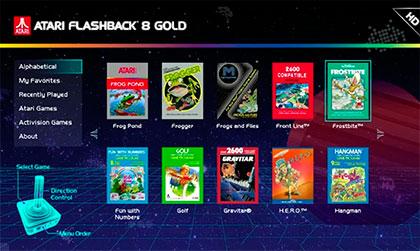 Juegos Atari Flashback 8 Gold Activision Edition