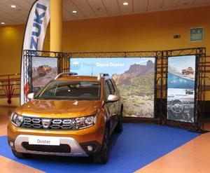 Dacia Duster en el Salón del Automóvil de Lugo 2018