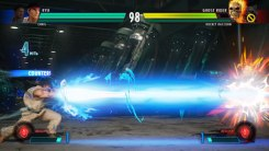 Ryu vs Ghost Rider