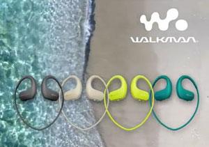 Gama de colores del Sony Serie NW-WS410