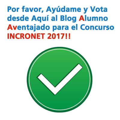 Votar para Concurso Incronet 2017