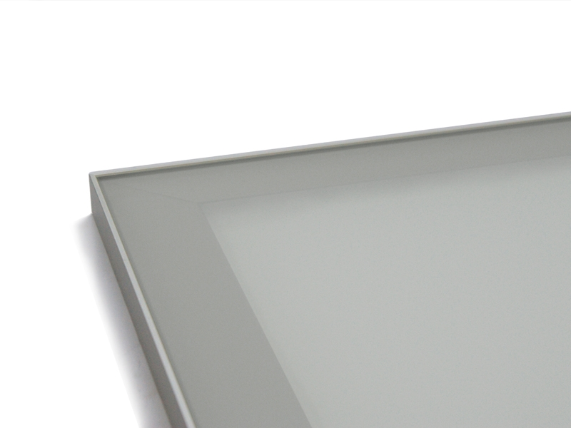 Frosted Satin Glass Inserts 171 Aluminum Glass Cabinet Doors