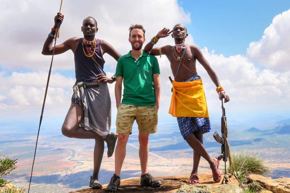 Dion Van Aardt- The Travelpreneur who tells his travel stories with pictures.