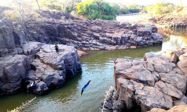 The crocodile scarers of Chebloch Gorge-Elgeyo Marakwet(Kenya)