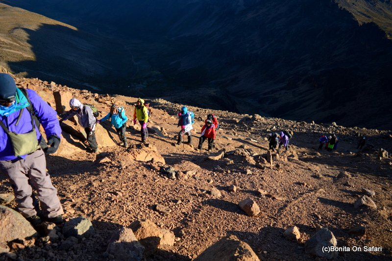 Summiting Mount Kenya:Sirimon-Chogoria route in 5 days(Part 1)