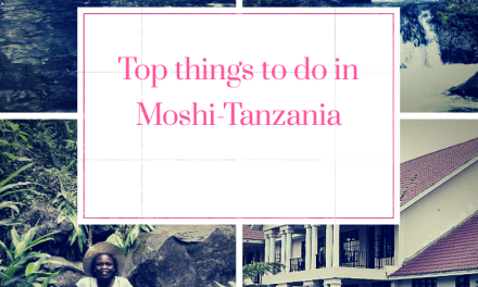 Top 6 things to do during your stay at Salinero Hotels, Moshi
