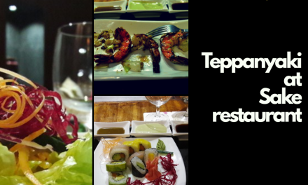 Japanese Teppanyaki at Sake Restaurant;Diani Reef Beach Resort and Spa