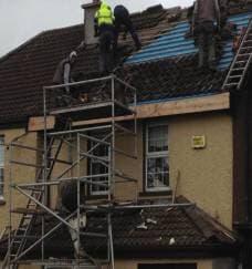 Felting Slating Gutter Repairs Cork