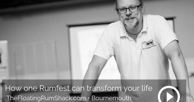 How one Rumfest can transform your life – Peter Holland, TheFloatingRumShake.com, Bournemouth