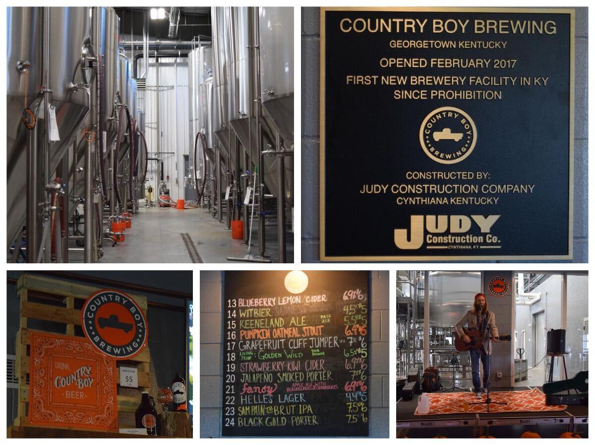 Country Boy Brewery, Lexington Kentucky, USA