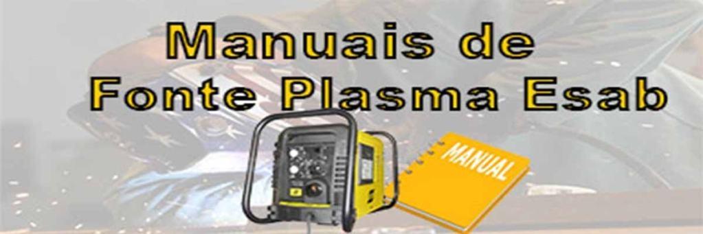 Manuais de fonte plasma Esab