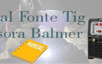 Manuais de fonte Tig inversora Balmer