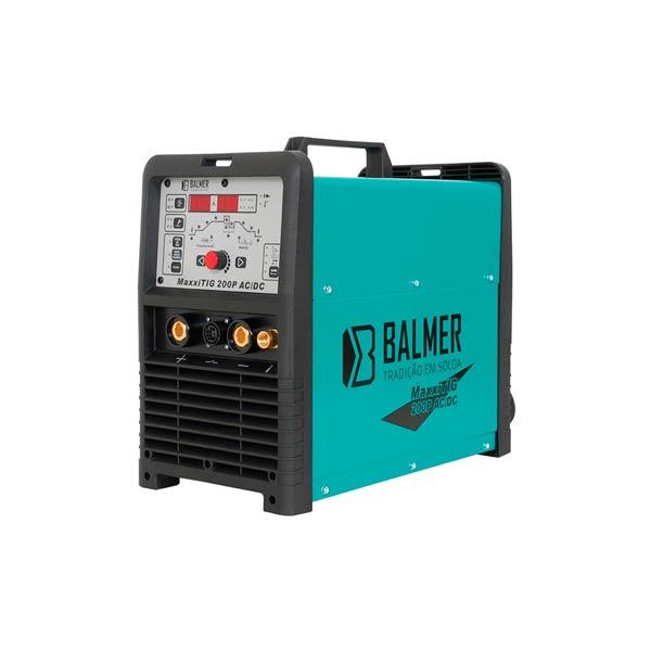 Inversor de solda TIG AC DC Balmer MaxxiTIG 200P HF