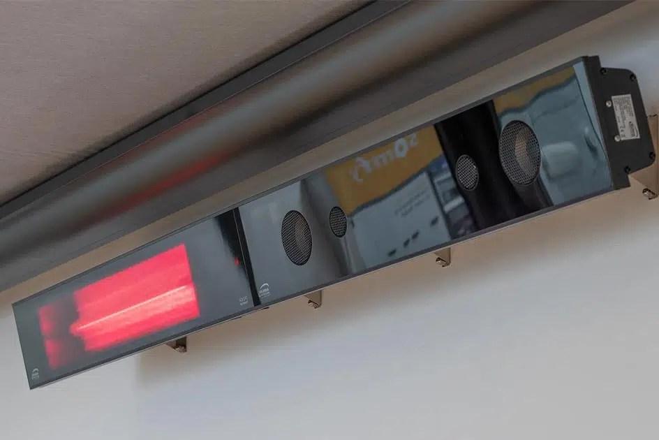 Terrassenheizung mit Soundanlage