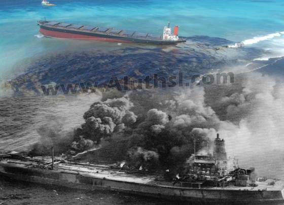 The-largest-oil-tanker-accident-in-history