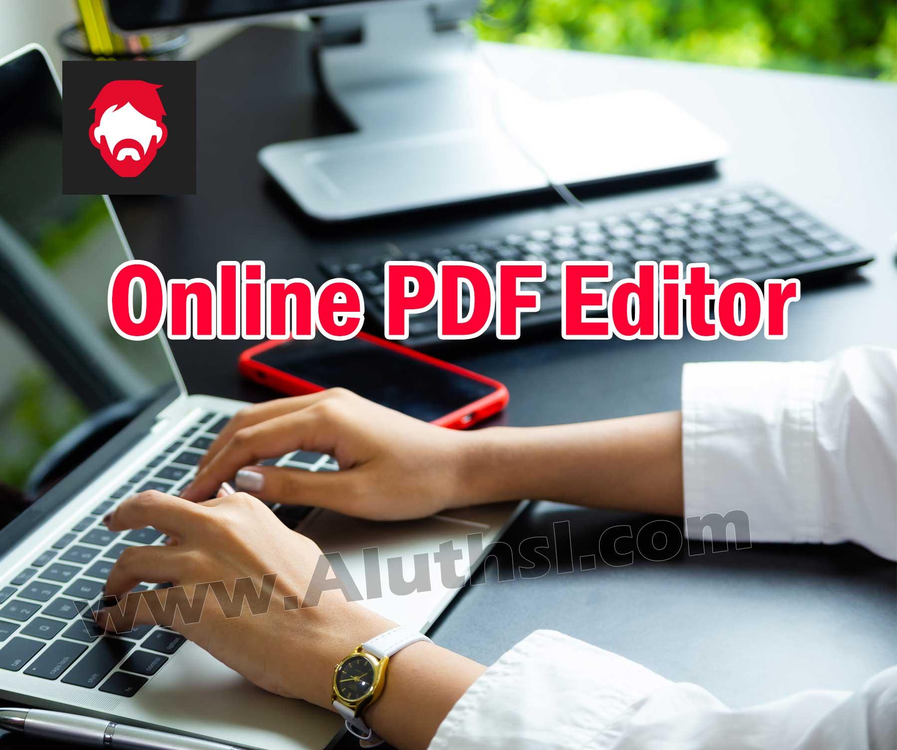 PDF Bob – Online PDF Editor