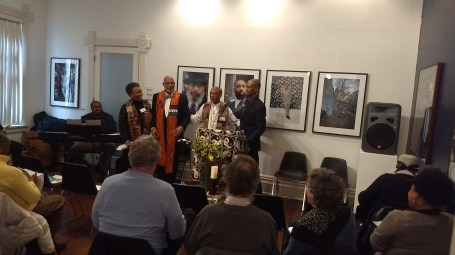 Revs. Qiyamah Rahman, Sherman Logan, Duncan Teague, and Carlton Smith