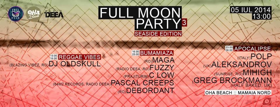 Full Moon Party III (Black Sea Edition) @OHA Beach