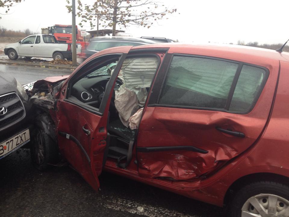 Am scăpat cu viață dintr-un grav accident rutier