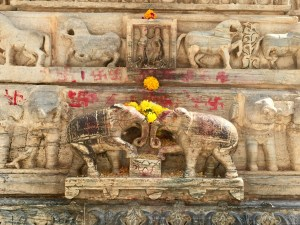 Jagdish Temple Elephant Carving