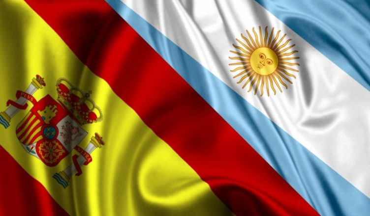 bandera arngentina españa