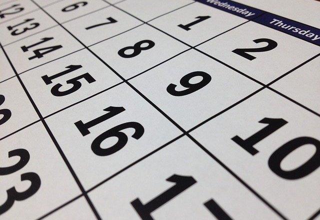 calendari0o 2020