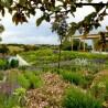 Integración de un jardín en el paisaje mediterráneo