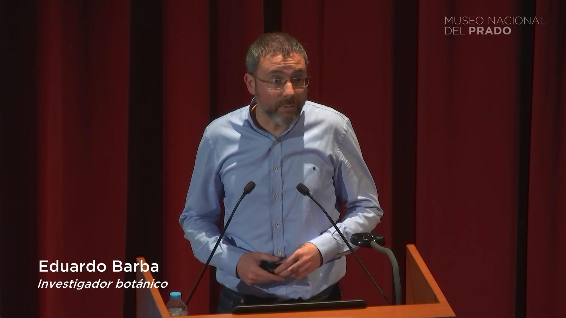 «La Fuente de la Gracia. Paseo por un prado florido» Conferencia del Investigador Botánico Eduardo Barba.