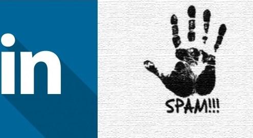 La mala gestión de contactos en Linkedin puede hacer que nos llegue Spam