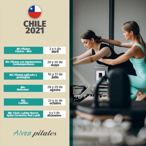 Curso de pilates chile presencial 2021