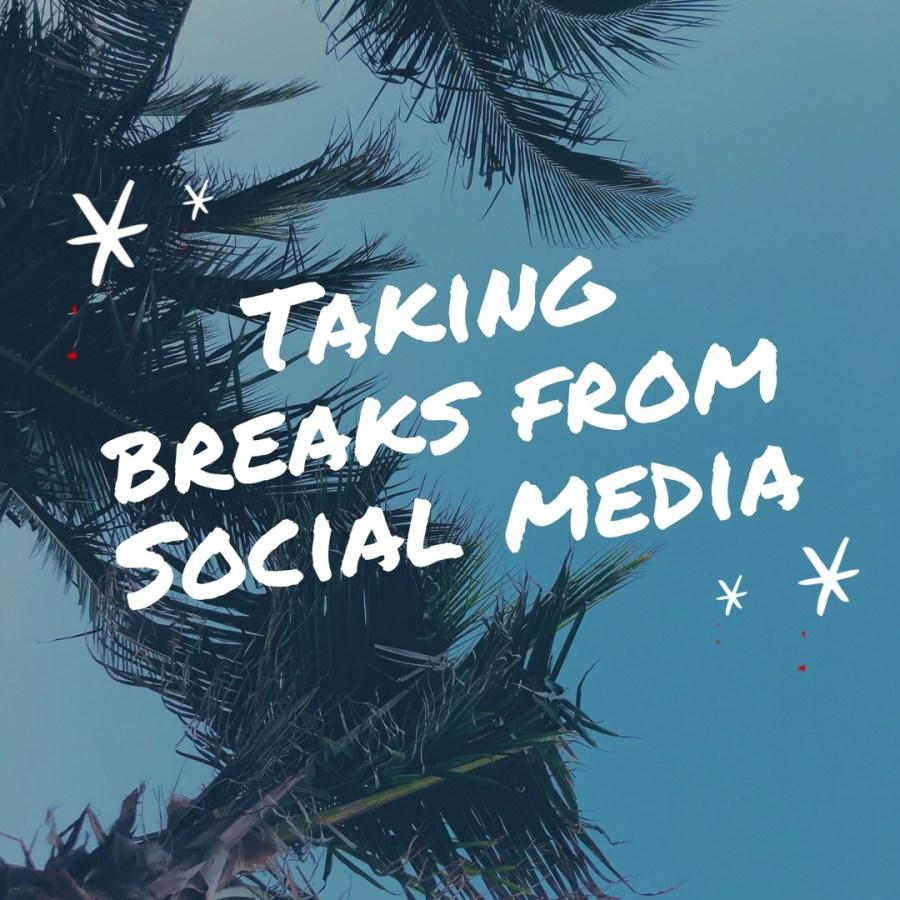 social media breaks