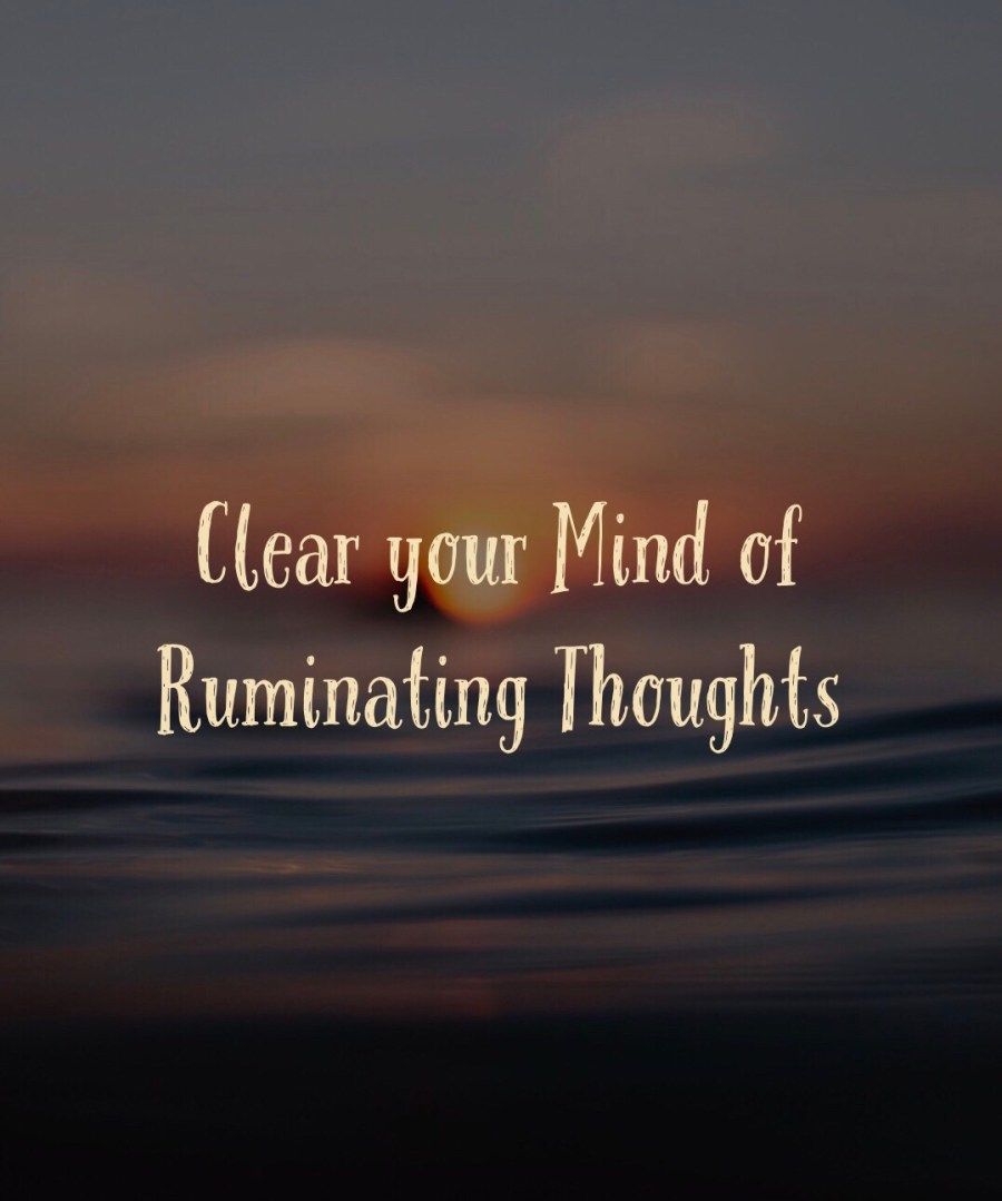 ruminating thoughts