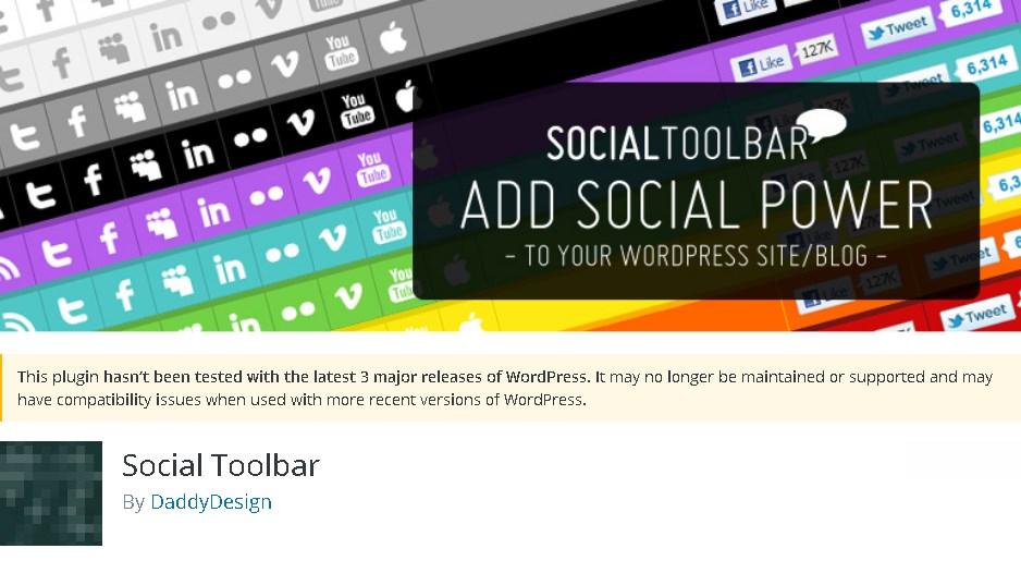 Social Toolbar