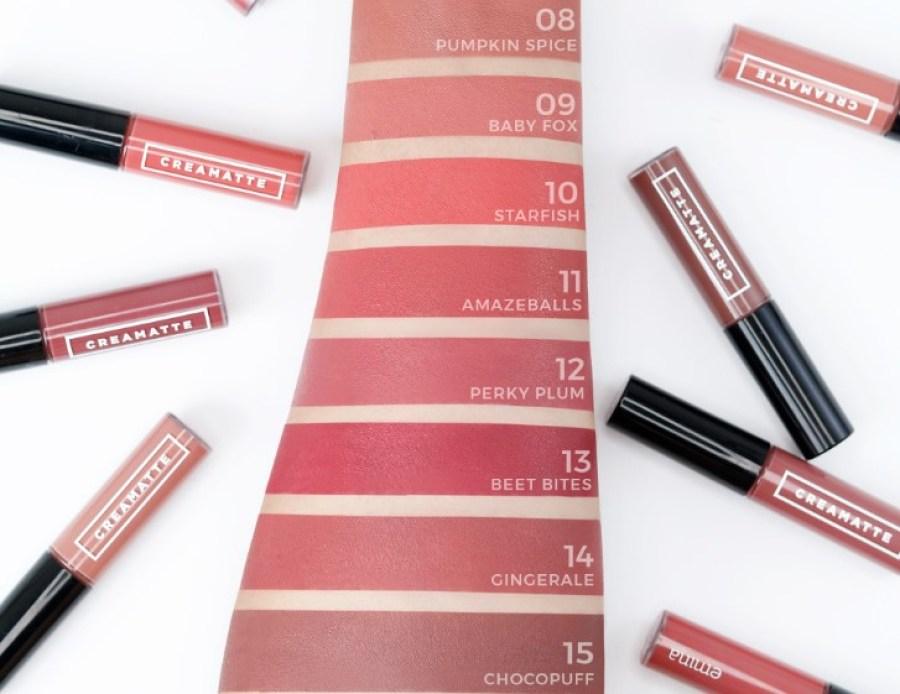 Memiliki 15 Shade Cream Matte Emina dengan Warna yang Cantik