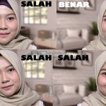 Tutorial Hijab Segi Empat Untuk Wajah Bulat Agar Terlihat Tirus dan Cantik