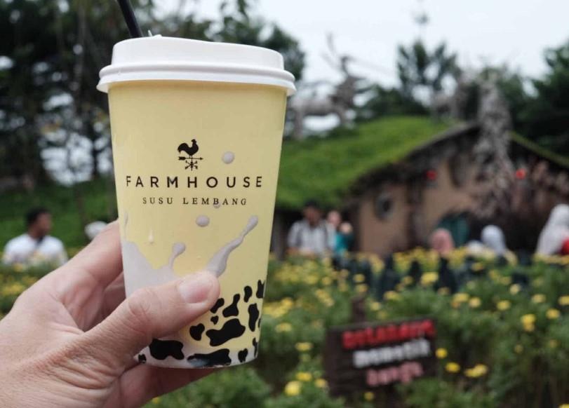 Area Penukaran Susu dan Sosis Farmhouse Lembang