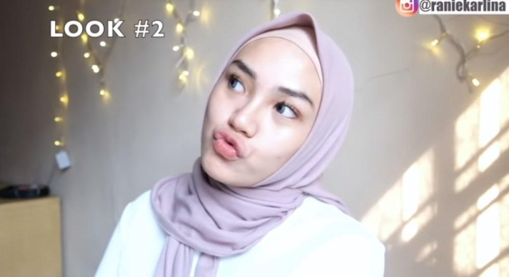 Cara Pakai Hijab Segi Empat Simple dan Cantik Sederhana SELESAI