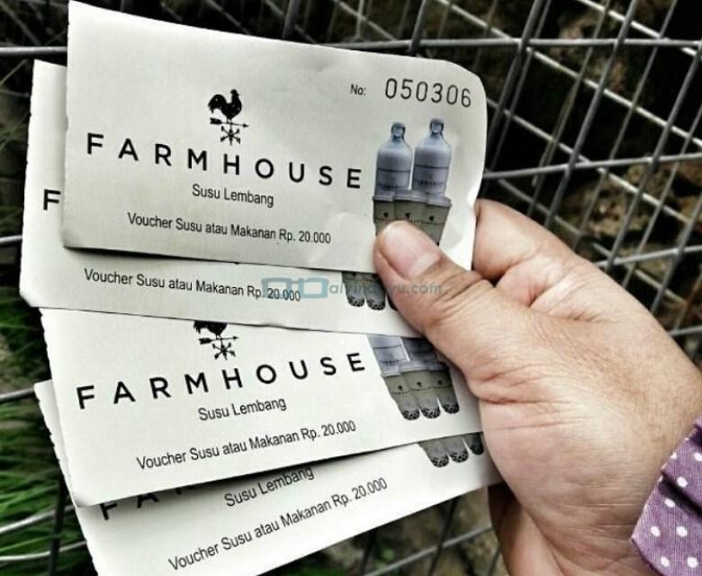 Harga Tiket Masuk Farmhouse Lembang Bandung