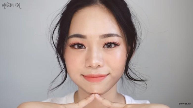 Tutorial Make Up Korea Peachy Look Fresh dan Cantik Natural