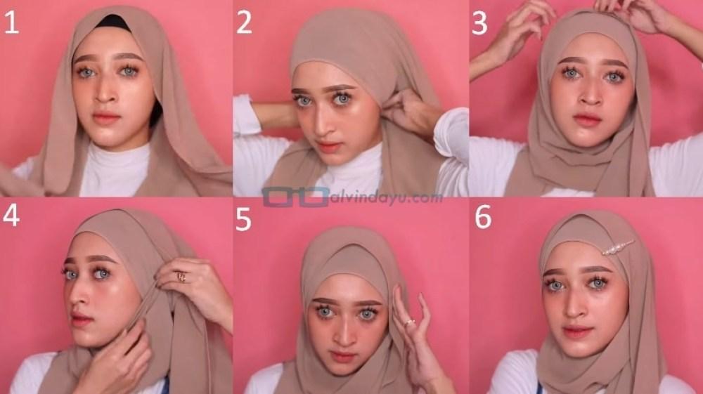 Tutorial Hijab Pashmina Kekinian dan Hits Simple dan Mudah
