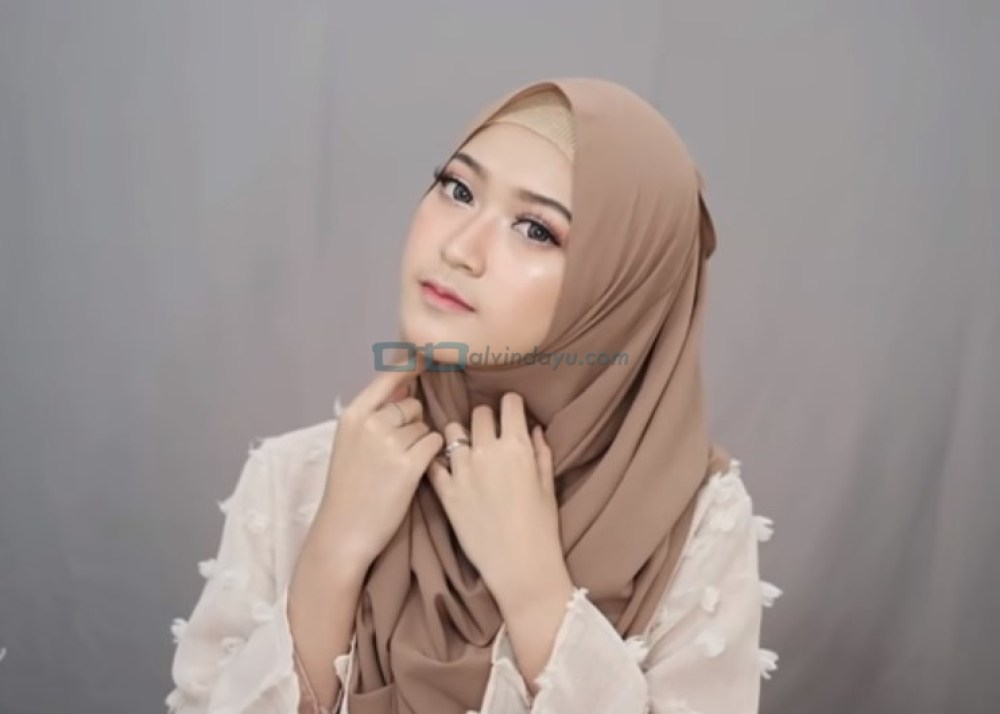 Tutorial Pashmina Simple Syari Modern SELESAI